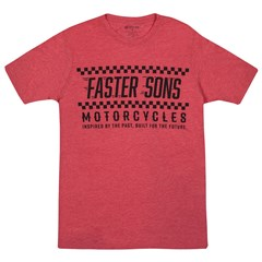Faster Sons Red Tee