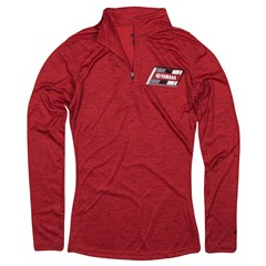 Speed Demon Women's Red 1/4-Zip