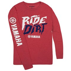 Track and Trail Ride Dirt Long Sleeve Tee