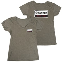 Women's Yamaha Genuine 1955 V-Neck Tee