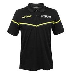 Yamaha Black Polo by VR|46®