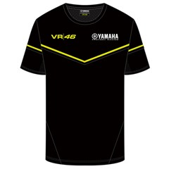 Yamaha Black T-Shirt by VR|46®
