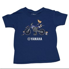 Yamaha Toddler Pit Crew Tee by Factory Effex
