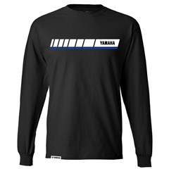 Blue Revs Yamaha Long Sleeve Tee - Black