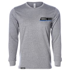 Blue Revs Yamaha Long Sleeve Tee - Gray