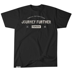 Journey Further Yamaha Tee - Black