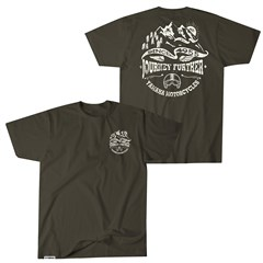 Journey Further Yamaha Tee - Olive