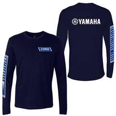 Yamaha Racing Long Sleeve Tee