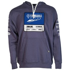 Yamaha Racing Team Hooded Pullover by Factory Effex - Navy