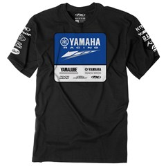 Yamaha Racing Team Tee by Factory Effex - Black