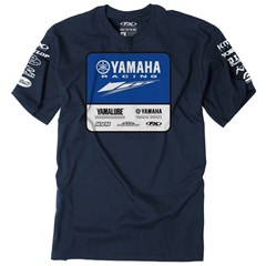 Yamaha Racing Team Tee by Factory Effex - Navy