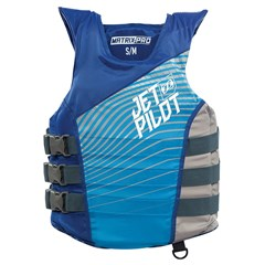 Matrix-Pro Nylon Side Entry 3-Buckle PFD by JetPilot - Blue
