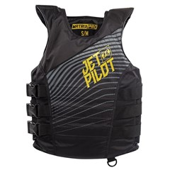 Matrix-Pro Nylon Side Entry 3-Buckle PFD by JetPilot - Gold