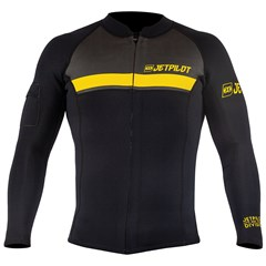 LIVE RIDE ESCAPE Division Co-Pilot Neoprene Wetsuit Jacket by JetPilot - Black