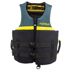LIVE RIDE ESCAPE Division Co-Pilot Neoprene 2-Buckle PFD by JetPilot - Black