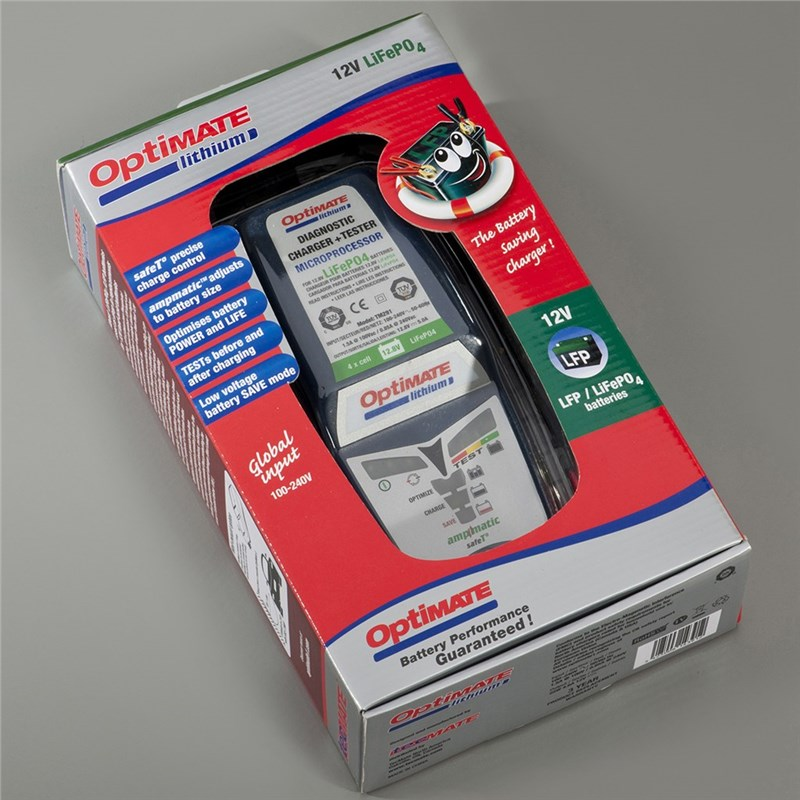 OptiMate Lithium-Iron Battery Charger