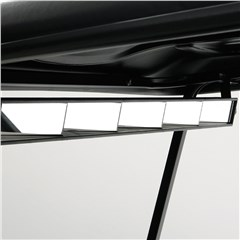 Golf Car 5-Panel Mirror Kit