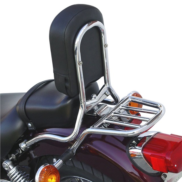 V Star 250 Backrest/Luggage Rack by National Cycle