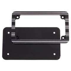 "Arlen Ness Signature ""Custom"" Billet License Plate Frame"