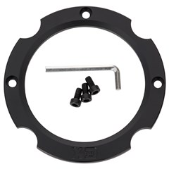 KMC XD Series Addict 2 Wheel Interchangeable Ring - Black