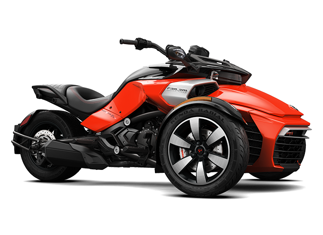 2016 Can-Am SPYDER F3-S 6-Speed Manual