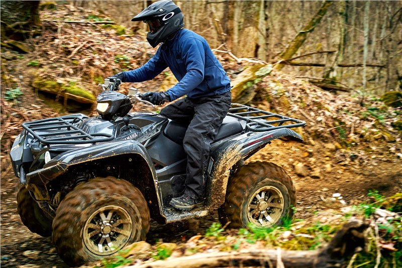 Yamaha Grizzly Special Edition Package Has