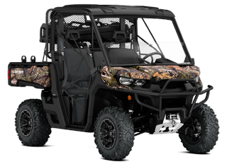 2018 Can-Am DEFENDER MOSSY OAK HUNTING EDITION HD10