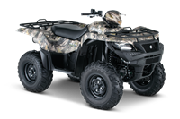 2015 Suzuki KingQuad 500AXi Power Steering Camo