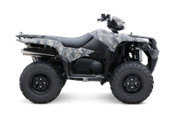 2015 Suzuki KingQuad 750AXi Power Steering Camo