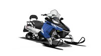 2017 Polaris 550 INDY® LXT Blue Fire Metallic