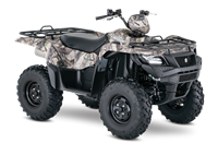2017 Suzuki KingQuad 750AXi Power Steering Camo