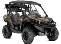 2018 Can-Am COMMANDER MOSSY OAK HUNTING EDITION 1000R
