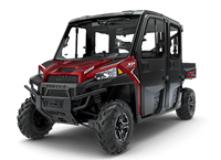 2018 Polaris Ranger Crew XP1000 EPS Northstar HVAC Edition