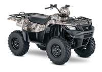 2018 Suzuki KingQuad 500AXi Power Steering Camo