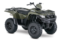 2018 Suzuki KingQuad 500AXi Power Steering