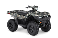 2019 Suzuki KingQuad 750AXi Power Steering Camo