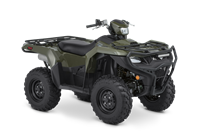 2020 Suzuki KingQuad 750AXi Power Steering with Rugged Package